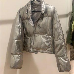 Alo Metallic Puffer Jacket